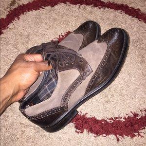 Men's Johnston & Murphy Wing Tip Shoes